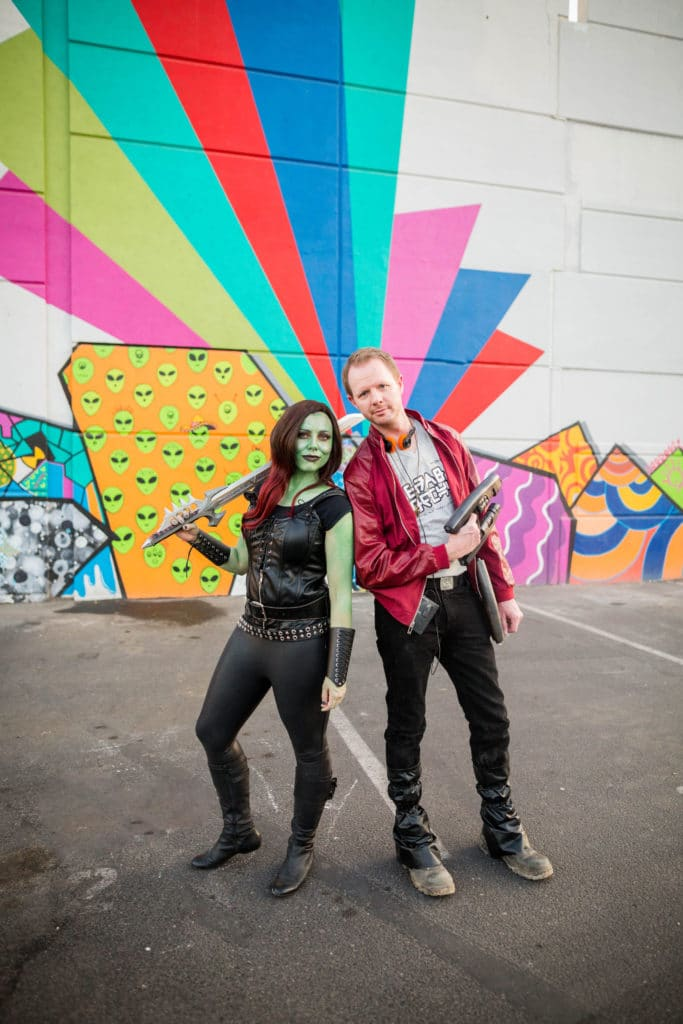 Guardians of the Galaxy Couple Costume