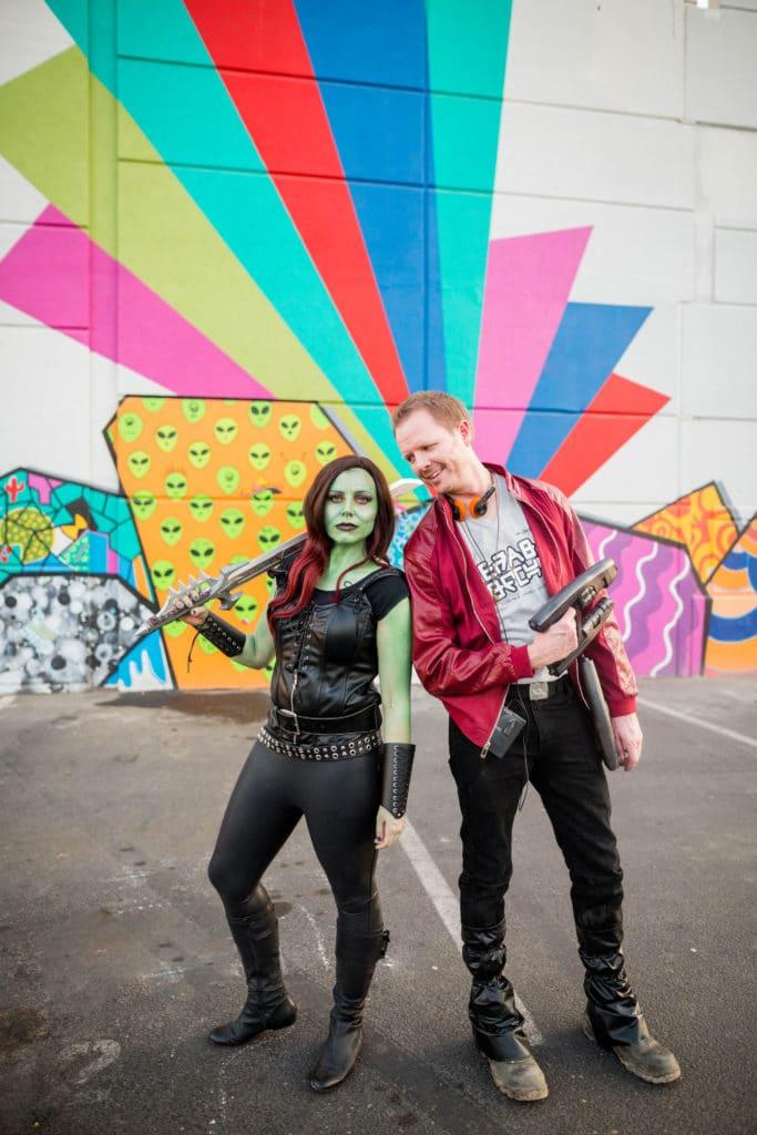 Star Lord and Gamora Costume