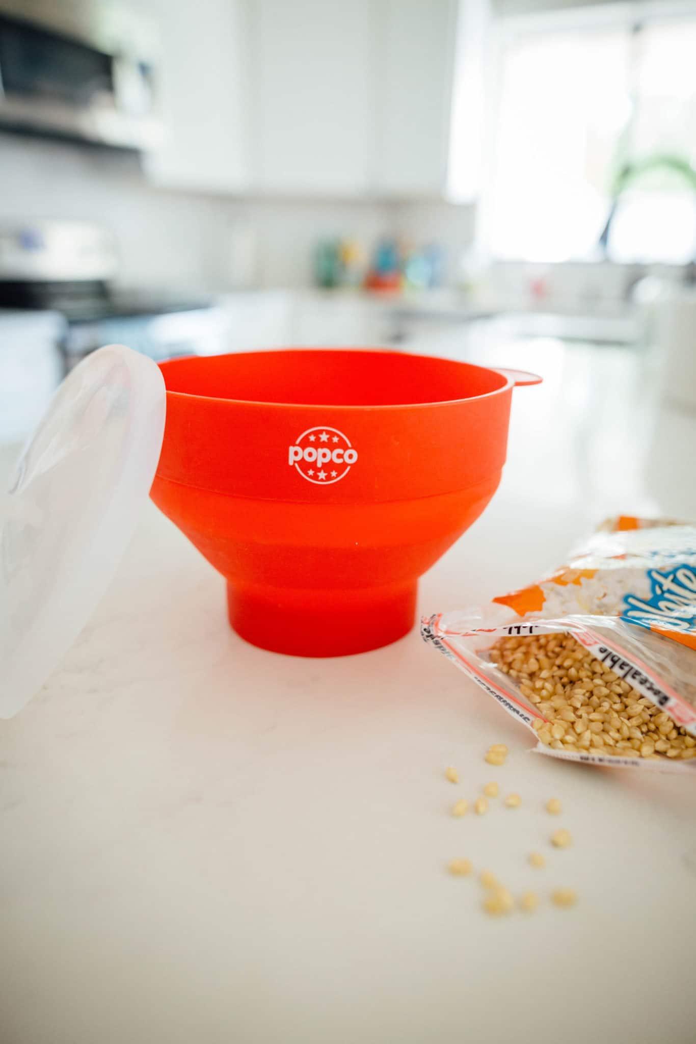 Collapsable Popco Silicone Microwave Popcorn Popper