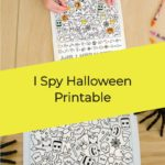 I Spy Halloween Printable