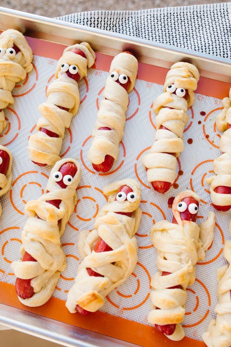 Mummy Hot Dog Recipe