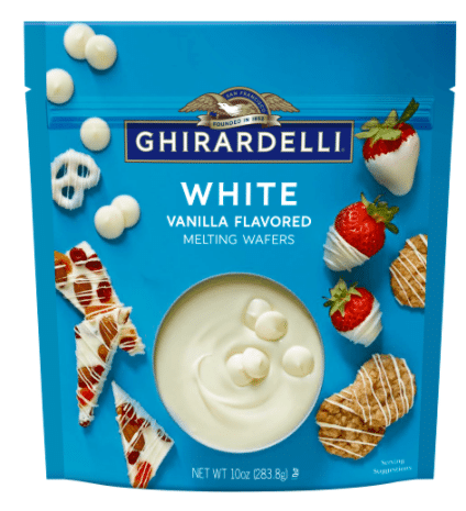 Ghirardelli White Melting Wafers - 10 oz.