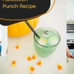 Spooky Dry Ice Halloween Punch Recipe