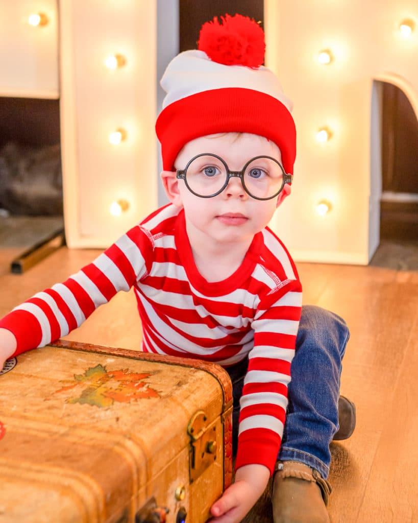 Where's Waldo Kid Costume