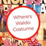 Where's Waldo Costume DIY