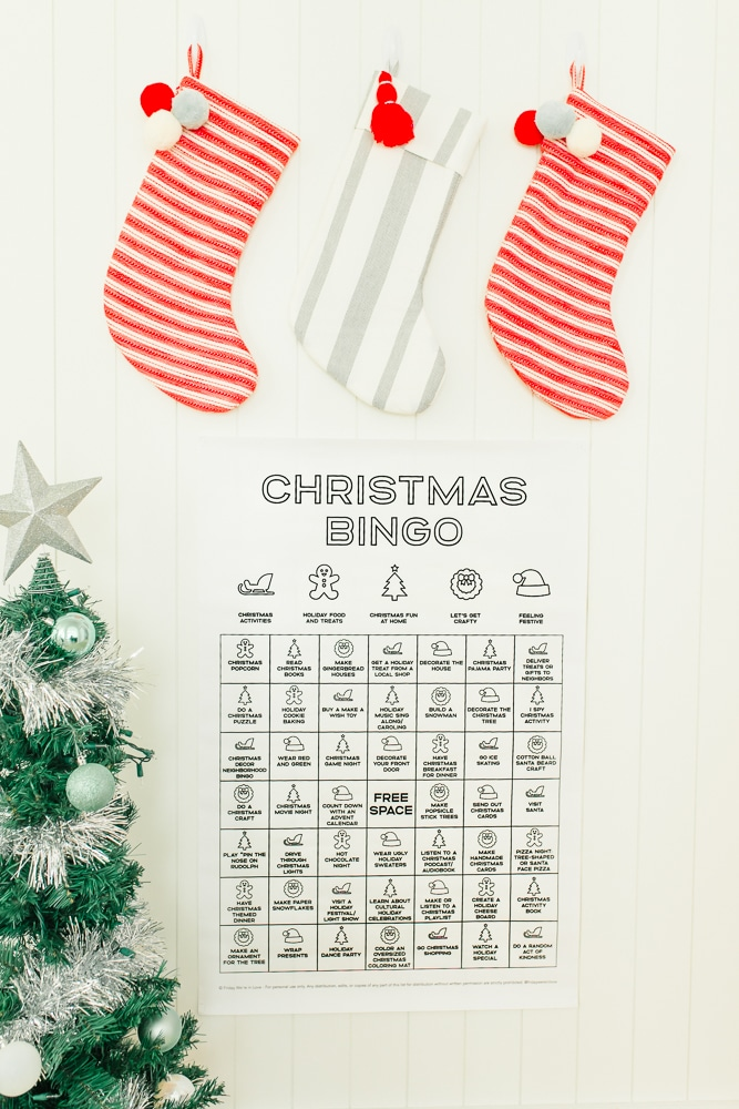 50 Christmas Activities with Free Printable