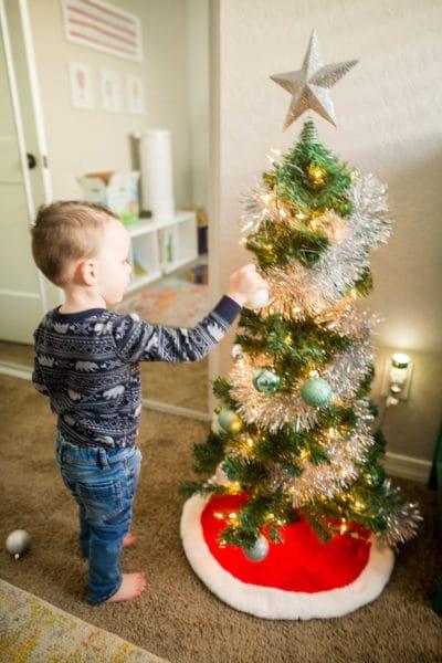 Kid's Christmas Tree