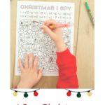 I Spy Christmas Printable