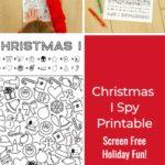 Christmas I Spy Activity