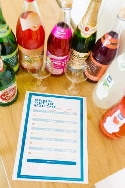 Taste Test Ideas with Free Scorecard Download!