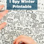 Winter I Spy Printable