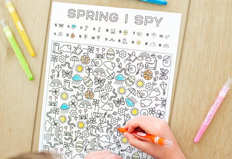 I Spy Spring