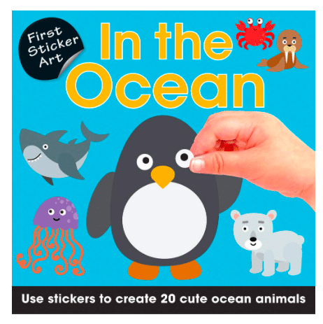 Sticker Book for 2-year-olds