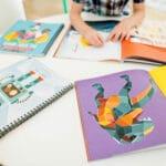 Mosaic Sticker Art Books