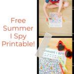 I Spy Summer: Free Summer Activity for Kids