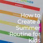Summer Routines for Kids