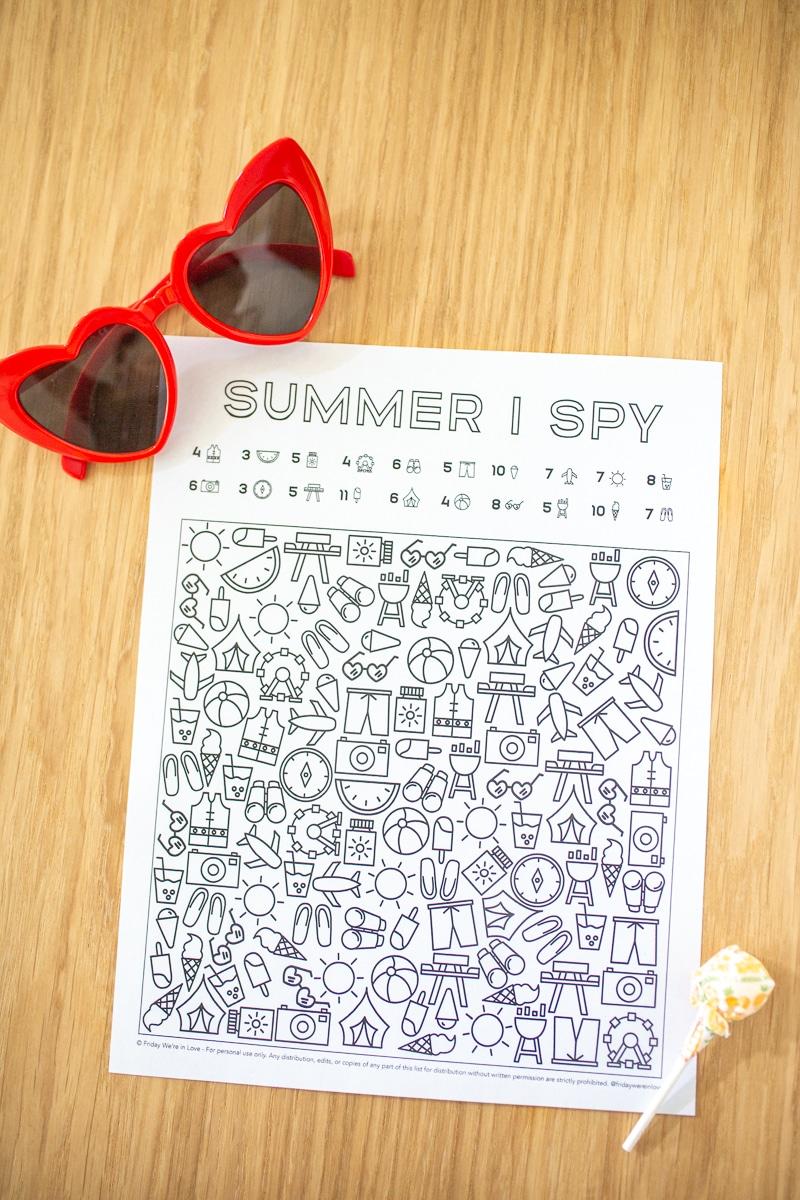 Summer I Spy