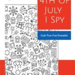 I Spy 4th of July Free Printable