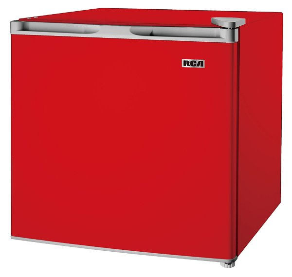 Rca 1.6-1.7 Cubic Foot Fridge Red