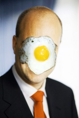 Ägg i ansiktet...