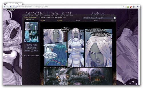 The Moonless Age