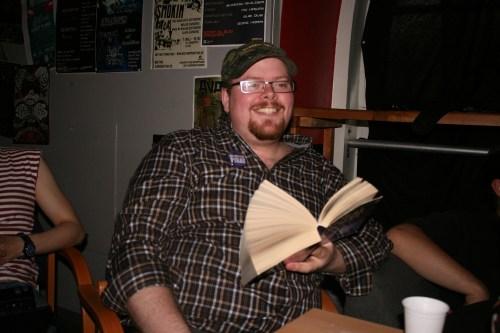 Sven-Erik Axelsson läser fantasy