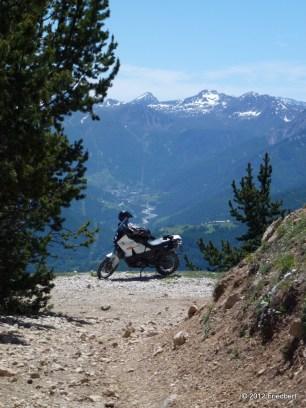 Blick vom Mont Pramant ins Susatal