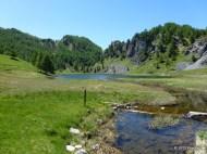 Der Lago Nero lädt zur Rast