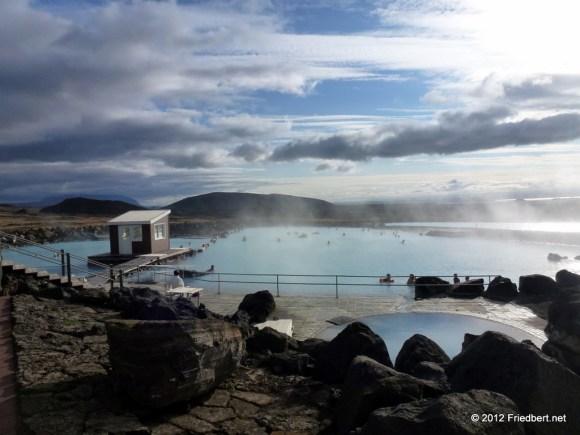 Tagesabschluß: Therme Mývatn