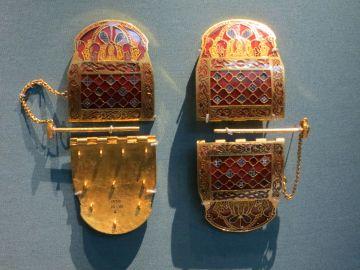Sutton Hoo Hinged Clasp Detail