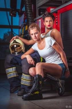 Fire girl, Fire man