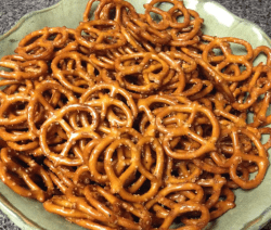 Spicy Seasoned Pretzels Recipe