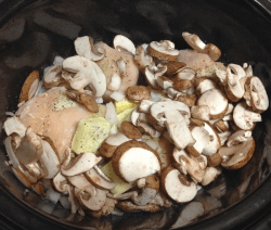 Slow Cooker Chicken Stroganoff Recipe