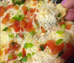 Easy Mexican Layered Dip Recipe