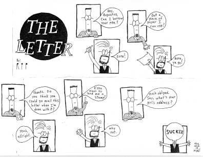 Tales From the Flipped: The Letter