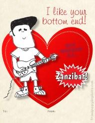 Fried Puppy Dog Discs' Valentine's Day Collection 2014 • Rex Morgan BC (Zanzibar 'Buck-Buck' McFate)
