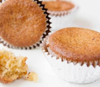 Appelsin-marsipan muffins