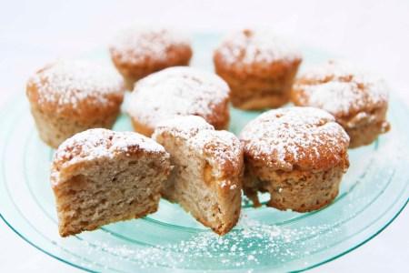 glutenfrie veganske muffins