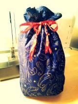 Geschenkesack (Nähanleitung von Debbie Shore)