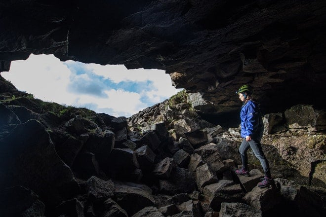 Caving and golden circle friend in iceland