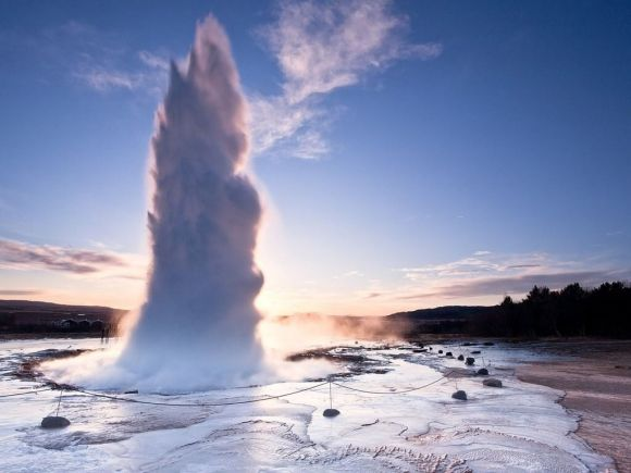 Geysir-friend in iceland