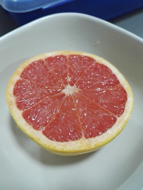 Grapefruit for Breakfast with Lilt to drink – Friendly ...