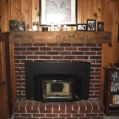 Enviro Wood Insert - Enviro Kodiak 1700 Wood Insert Nickel Door