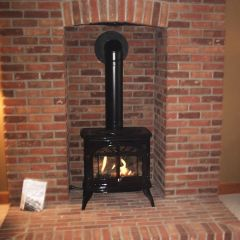The Enviro Westport by friendlyfires.ca is one of the most popular propane stoves (popular gas stoves) available.
