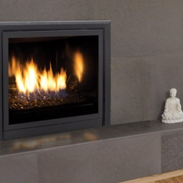 Enviro Q2 Gas Fireplace Contemporary Look