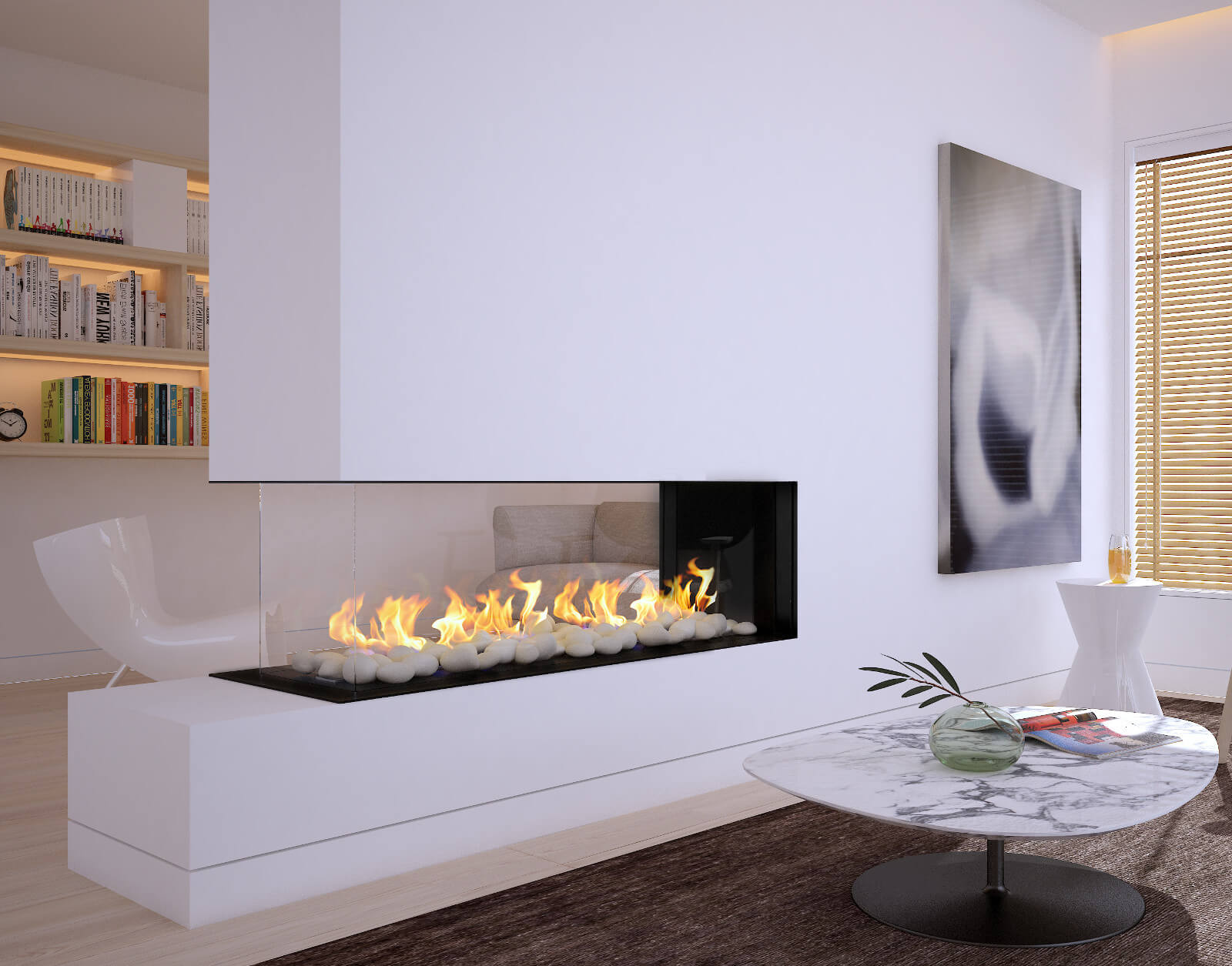 Flare Frameless Fireplaces