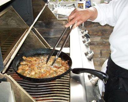 Souvlaki on the grill!