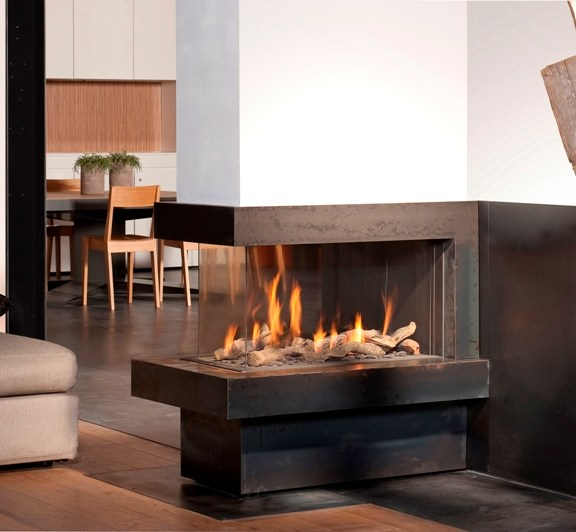 Lennox 3 Sided Propane Fireplace: Bellfire Deluxe 3 Sided, Corner And See Through
