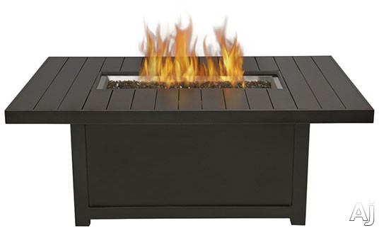 Napoleon Rectangle Outdoor Propane Table Friendly Fires