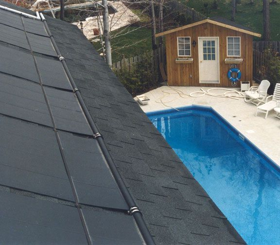 Solar Pool Panel Picture